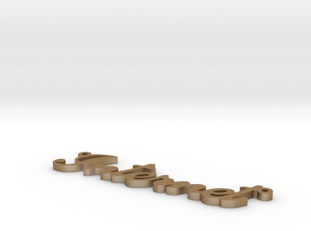 Internet-pendant 3d printed