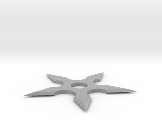 Shuriken 80 mm in Metallic Plastic