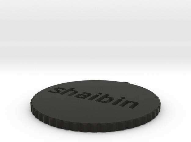by kelecrea, engraved: shaibin 3d printed