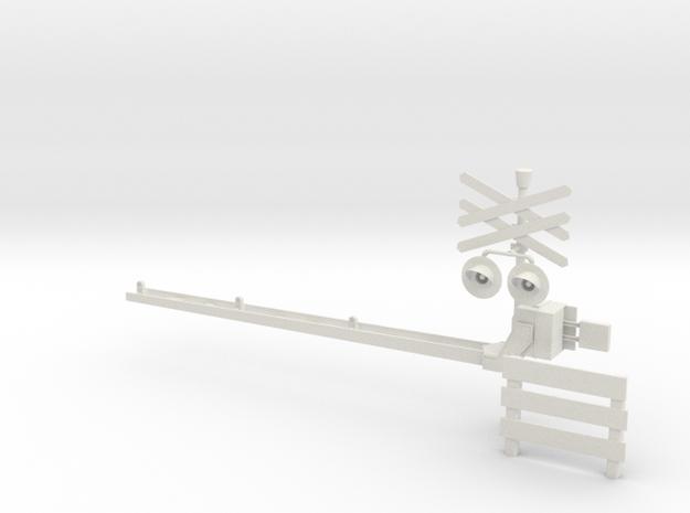 Spoorboom Nieuw H0 3d printed