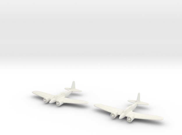 1/200 Curtiss A-18 (x2) in White Strong & Flexible