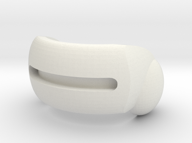 ModiBot OptiVisor goggles in White Strong & Flexible