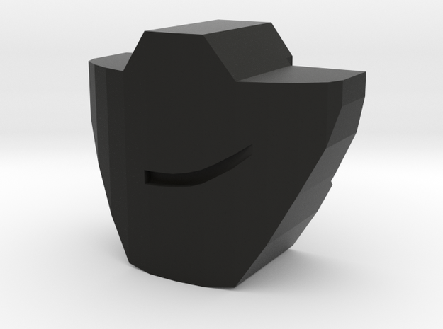 PRID Rumble / Frenzy Mouthplate - Smirking 3d printed
