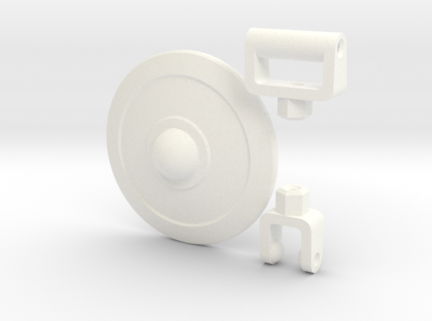 ModiBot Buckler Shield Kit 3d printed