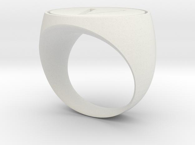 V Ring 3d printed