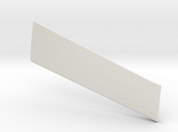 Wind Skimmer - Left Aileron in White Natural Versatile Plastic