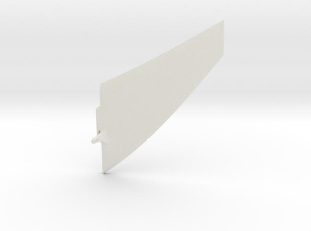 Wind Skimmer - Left Elevator in White Natural Versatile Plastic