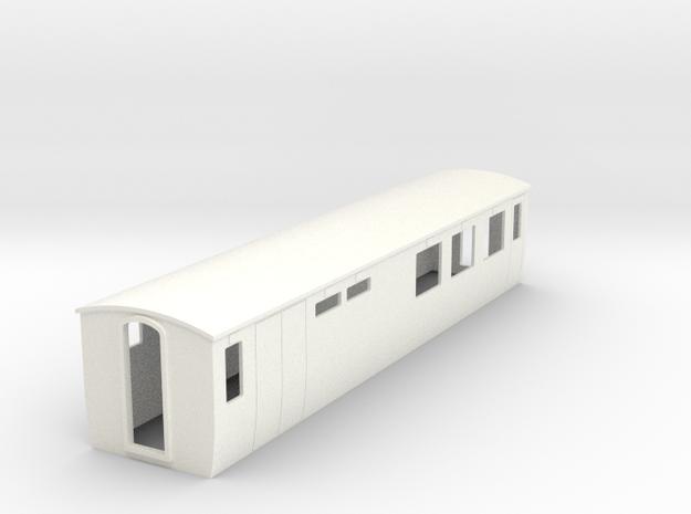 OO9 modern restaurant car 3d printed