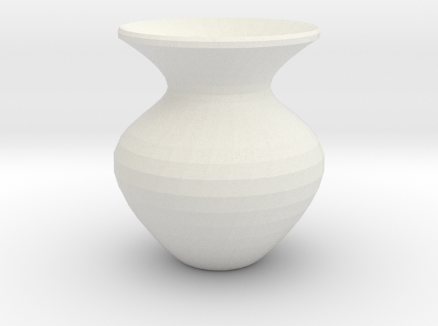 Vase in White Strong & Flexible