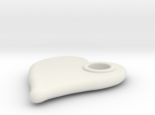 Merged Skin Cylinder3D2 in White Natural Versatile Plastic