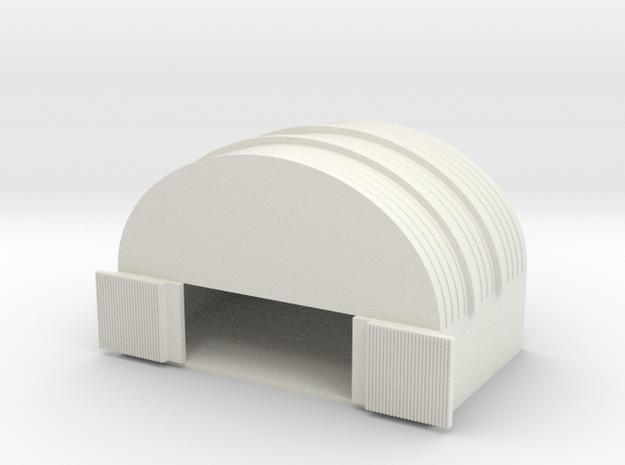 1/700 Medium Hanger in White Natural Versatile Plastic