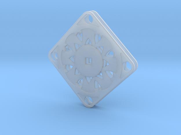 Elegant Earrings - Suspended Coin 3d printed