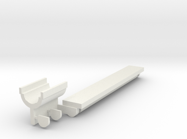 R-Hop™ Installation Aid rev. II  in White Natural Versatile Plastic