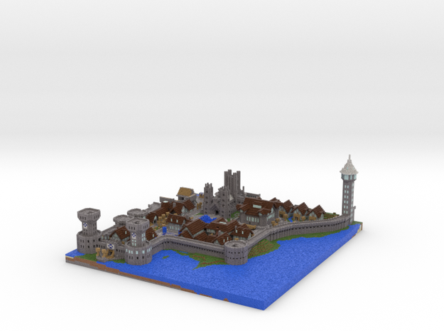 Castle Lividus of Aeritus 1 3d printed