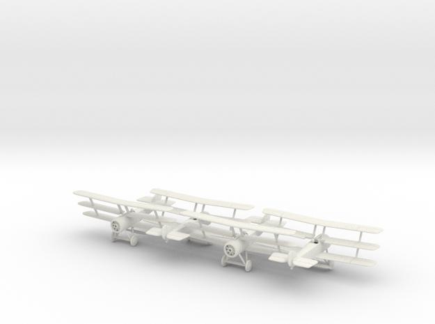 1/144 Sopwith Triplane x4 3d printed