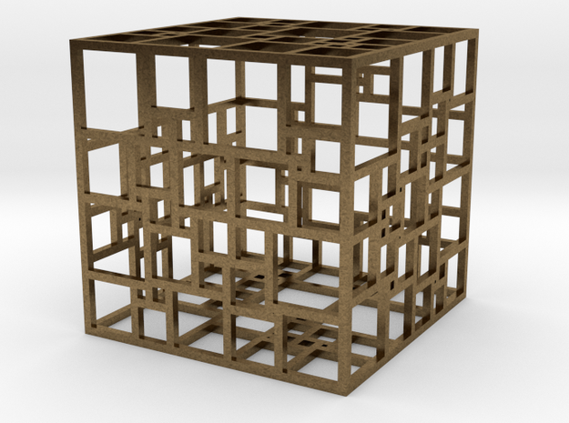 SPSS Cage in Raw Bronze