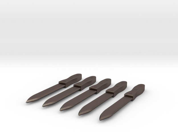 Bill the Butcher - Throwing Knives 3d printed
