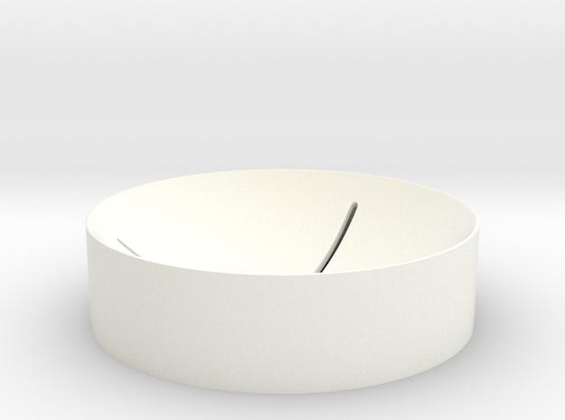 5cm Globe Stand 1 in White Processed Versatile Plastic