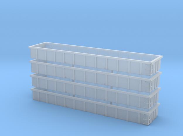 Coalveyor Side extensions [Sprue of 4]