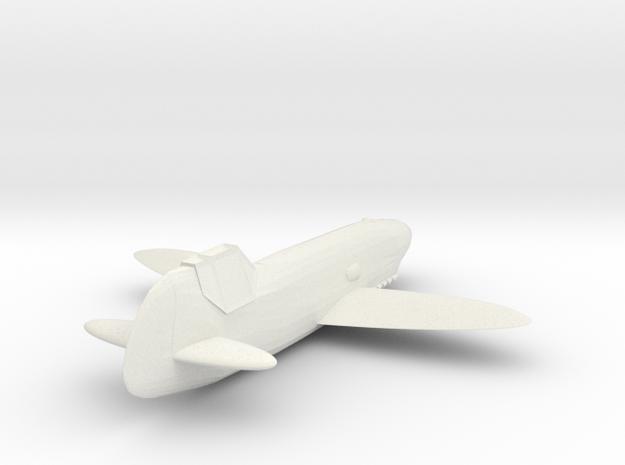 1/200 Hütter Hü 136 'Stubo 1' in White Natural Versatile Plastic