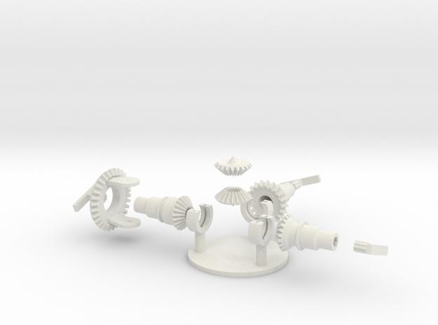diff5 in White Natural Versatile Plastic