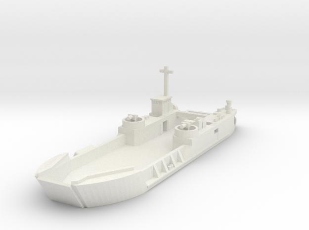 1/600 LCT-6 in White Natural Versatile Plastic