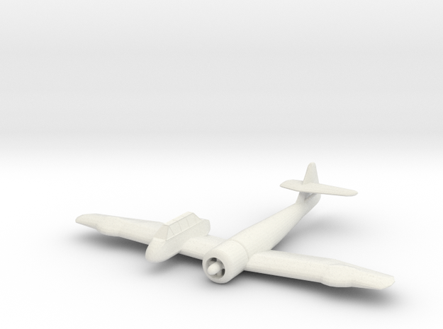 1/200 Blohm & Voss Bv 237 in White Natural Versatile Plastic