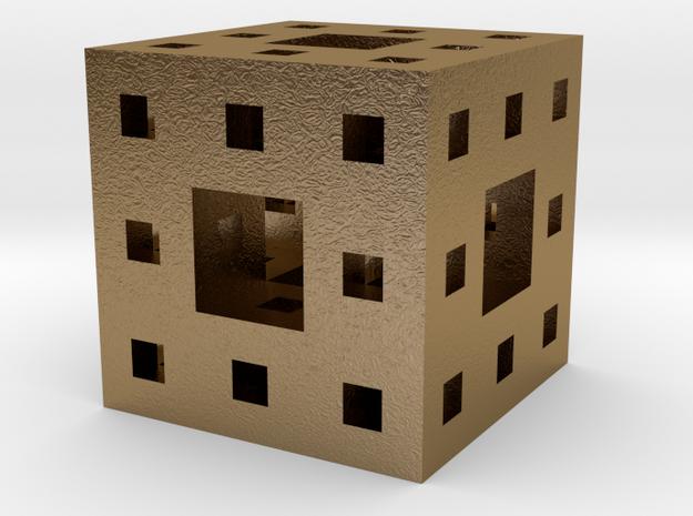 Menger Sponge Pendant/Charm/Sculpture 3d printed