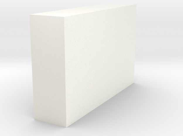 Service Bed Cabinets  in White Processed Versatile Plastic