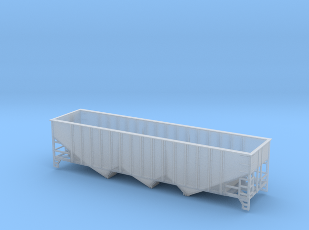 TT Scale 40' Triple Hopper 14 Panel in Smooth Fine Detail Plastic