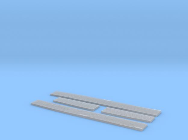 Seitendecks Set lange Version in Smooth Fine Detail Plastic