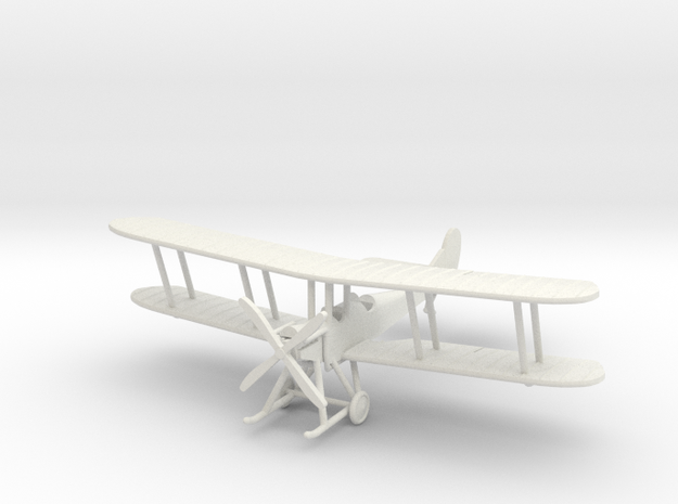 "RAF B.E.2c ""Early"" 1:144th Scale in White Strong & Flexible"