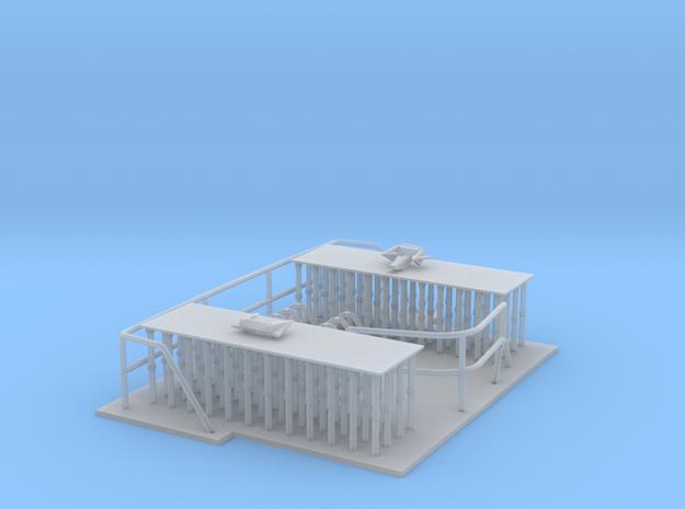 Reling Set ,kurze und lange Version 3d printed