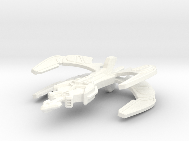 Klingon Monarch Class Transport 3d printed