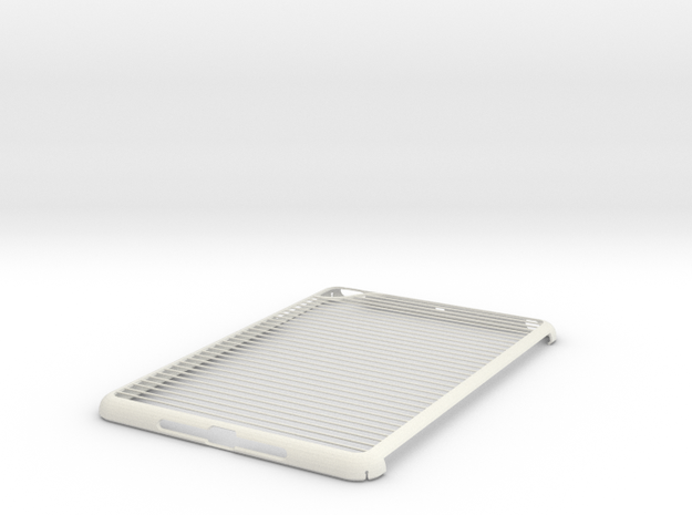 iPad Mini Tubes Case in White Natural Versatile Plastic