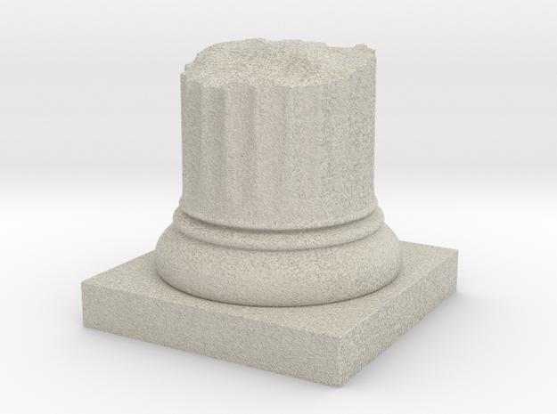 Broken Pillar Stump in Natural Sandstone