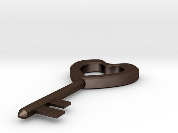 Key To Your Heart - Pendant 3d printed
