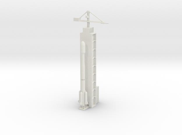 1/700 Xichang Long March 3C Launch in White Natural Versatile Plastic