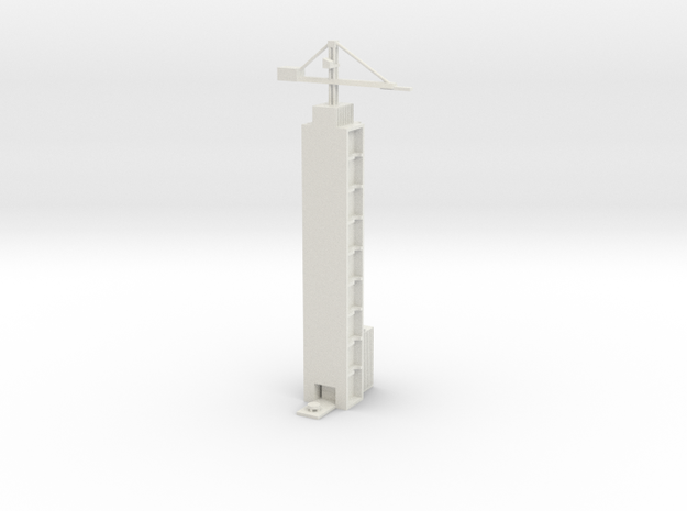 1/700 Xichang Satellite Launch Center (Launch) in White Natural Versatile Plastic