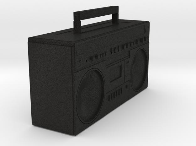 BOOMBOX in Black Acrylic