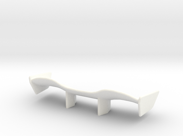V1 Racer Wing 2.5 in White Processed Versatile Plastic