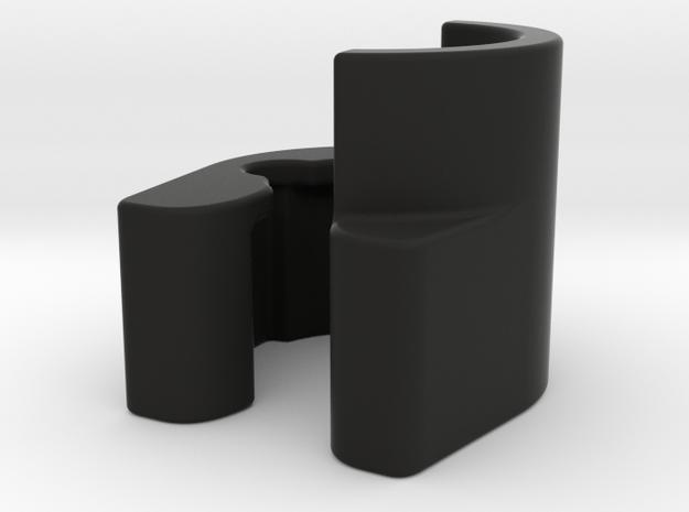 Bugaboo Wheelie Board Bracket Left in Black Natural Versatile Plastic