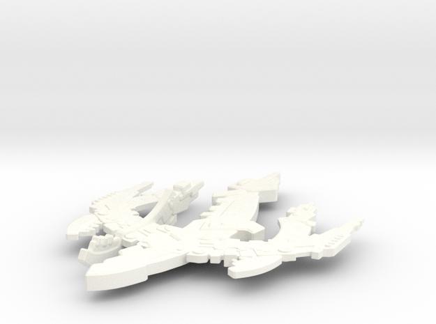 Breen Type V Frigate in White Processed Versatile Plastic