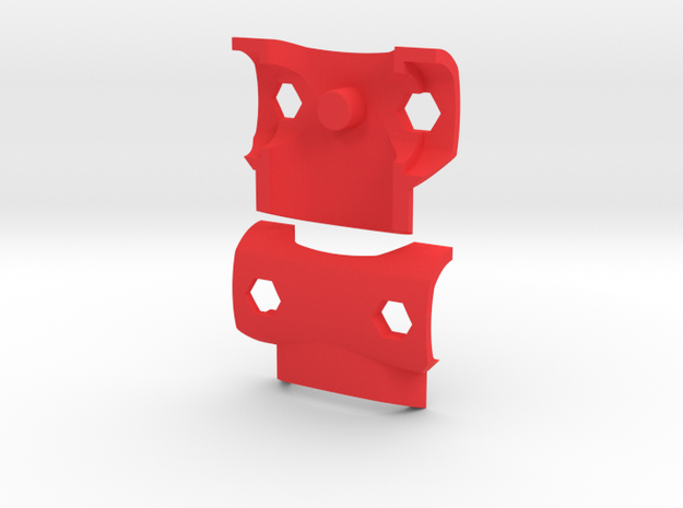 V3 Simple Breastplate 3d printed