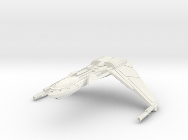 Bird Of Pray Class Cruiser Wings Down 3d printed