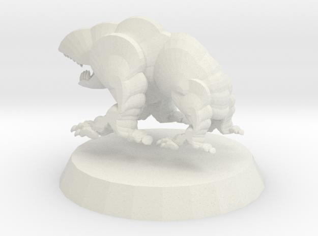 Goblin Hound 1 in White Natural Versatile Plastic