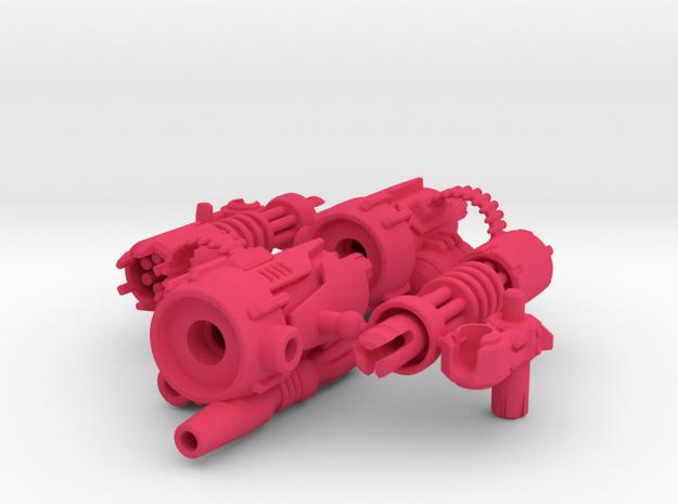 D.R.E.A.D Suppressor miniguns 3d printed