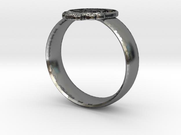 Custom Grateful Dead Ring 3d printed