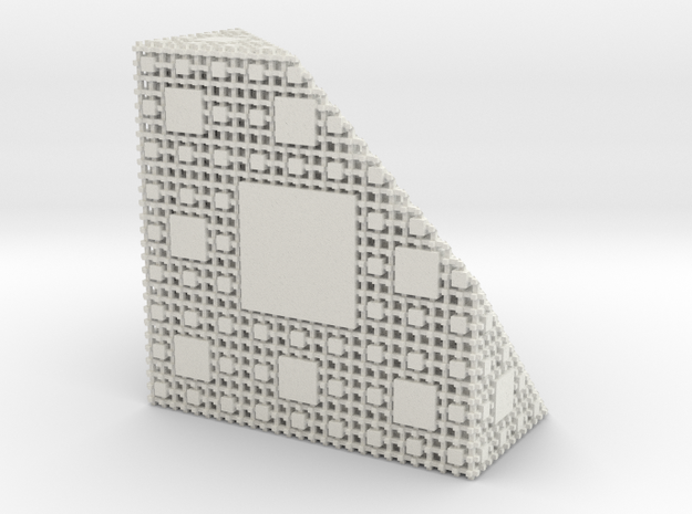 Menger Antisponge level 4 3d printed