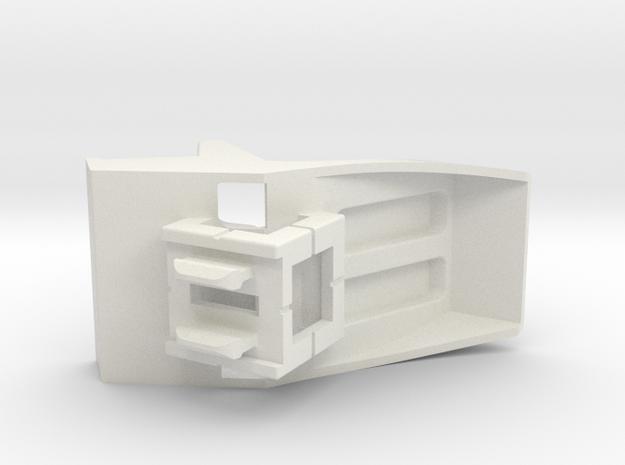 Rokenbok Snap-in Cockpit in White Natural Versatile Plastic